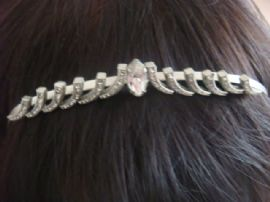 Art Deco Tiara - 1930's Diamante Hairband (SOLD)